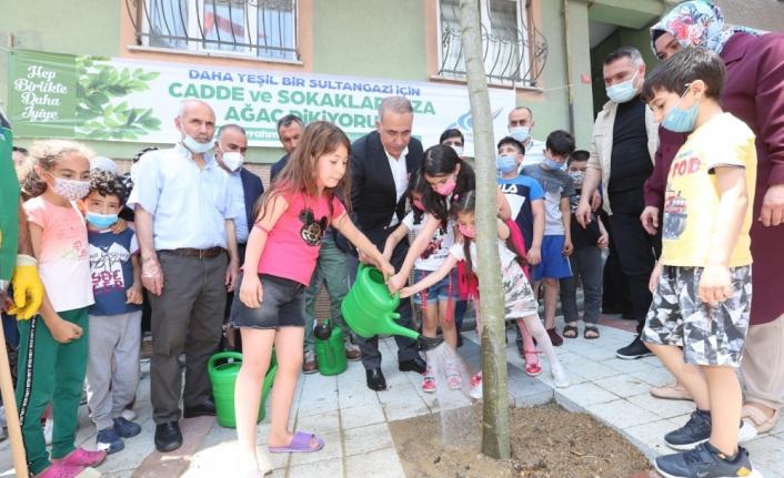 Sultangazi Belediyesi, ağaç dikim seferberliği başlattı