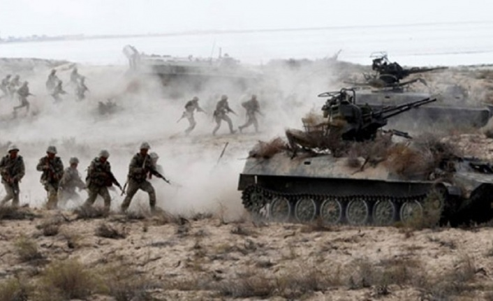 Üç ülkeden ortak askeri tatbikat