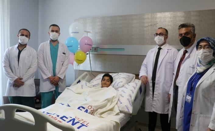 Yalova'da göğsüne parmaklık demiri saplanan çocuk iyileşiyor