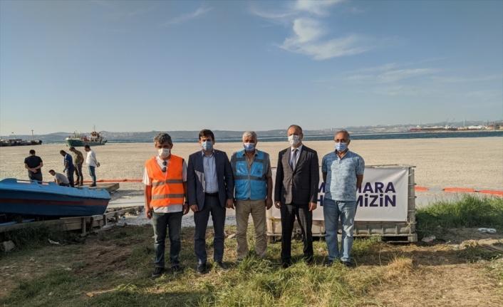 Yalova'da müsilaj temizlik çalışmaları sürüyor
