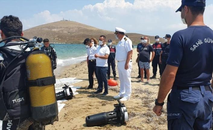 Denizde kaybolan kişi için başlatılan arama kurtarma çalışmaları ikinci gününde devam ediyor