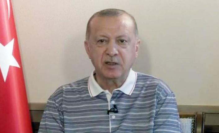 Cumhurbaşkanı Erdoğan, teşkilatıyla bayramlaştı