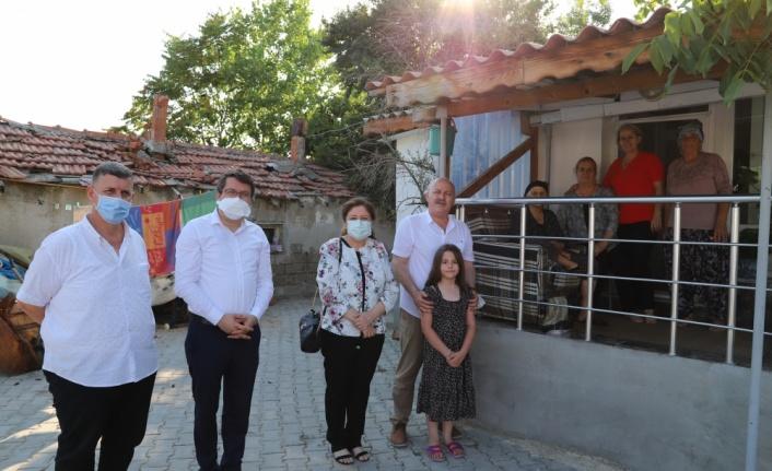 Belediye Başkanı İnan, şehit ailelerinin bayramını kutladı