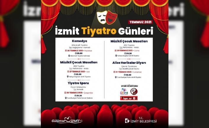 İzmit Belediyesi'nden yerel tiyatroculara destek