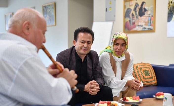 Başkan Yazıcı, Yaşlılar Merkezi sakinlerinin Kurban Bayramı'nı kutladı