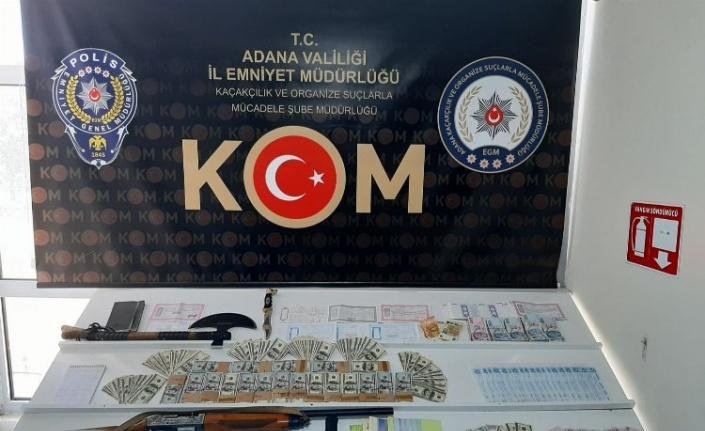 Adana'da KOM'dan tefecilik operasyonu