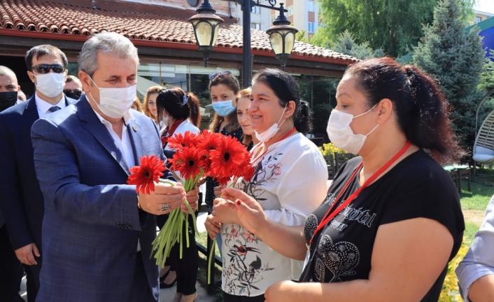 BBP Genel Başkanı Destici, partisinin Kırklareli İl Kongresi'nde konuştu: