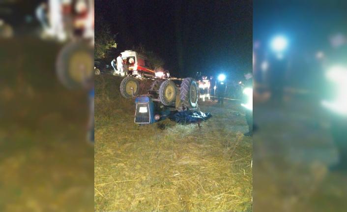 Bilecik'te devrilen traktörün sürücüsü öldü