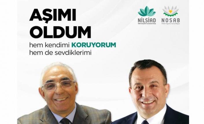 Bursa'da sanayicilerden aşı kampanyası