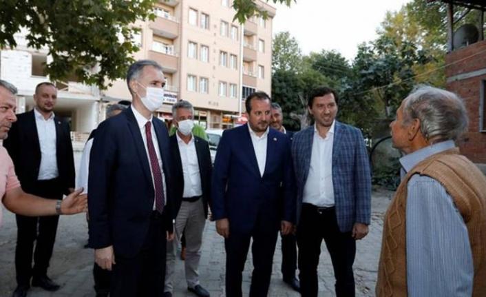 Bursa Milletvekili Özen İnegöl'de ziyaretlerde