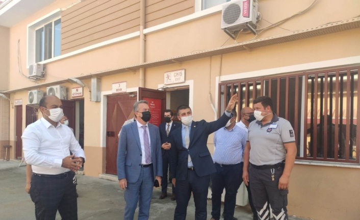Edirne Emniyet Müdürü Alçalar, İl Göç İdaresi Müdürlüğünü ziyaret etti
