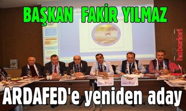 Gazeteci Fakir Yılmaz ARDAFED'e Yeniden Aday
