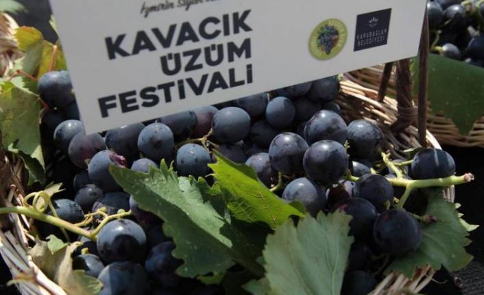 Karabağlar'da 'Kavacık Üzüm Festivali' hazırlığı