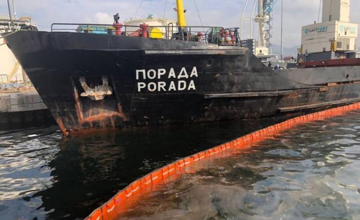 İzmit Körfezi'ni kirleten gemiye milyonluk ceza