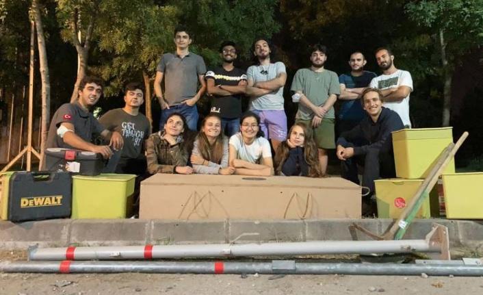 KOÜ'nün roket takımlarına Büyükşehir'den tam destek
