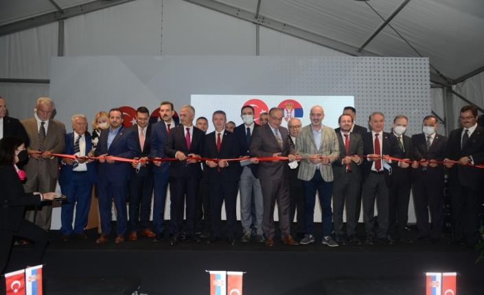 Sırbistan'ın Bursa Fahri Konsolosluğu açıldı