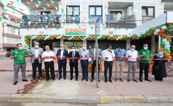 Tarım Kredi Kooperatif Market'in Derince Şubesi Açıldı