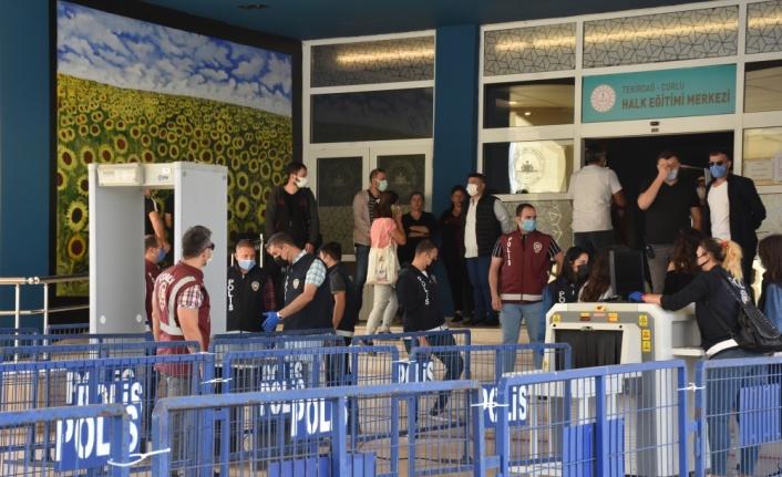 Tekirdağ'daki tren kazası davasının 8. duruşması başladı