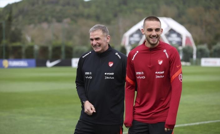 A Milli Futbol Takımı, Norveç maçı hazırlıklarını sürdürdü