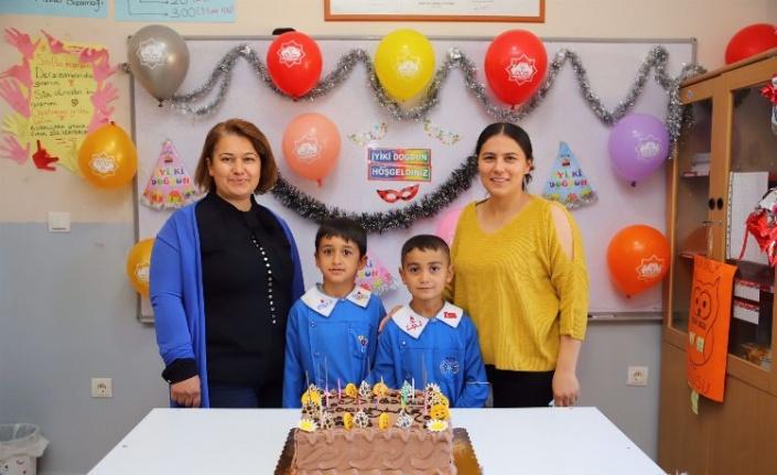 Aksaray'da köy okullarında en mutlu gün