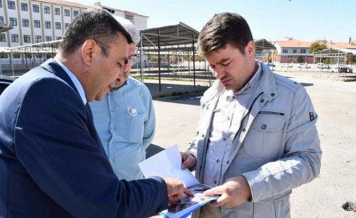 Aksaray Hashas'da semt pazarı yenileniyor