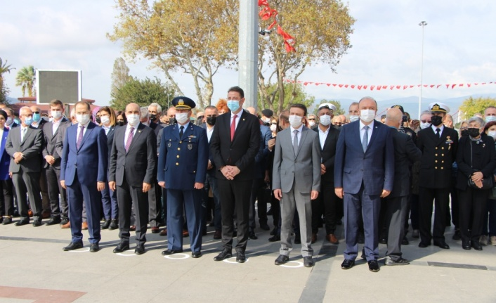 Atatürk'ün Bandırma'ya gelişinin 96. yıldönümü kutlandı
