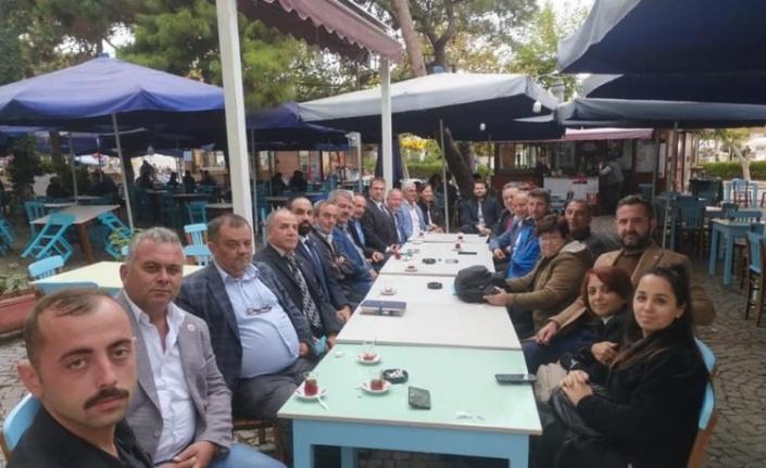 Bozcaada'ya İYİ Parti toplantısı