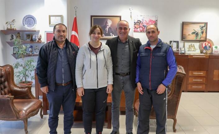 Bursa'da Gemlikli Semanur olimpiyat yolunda