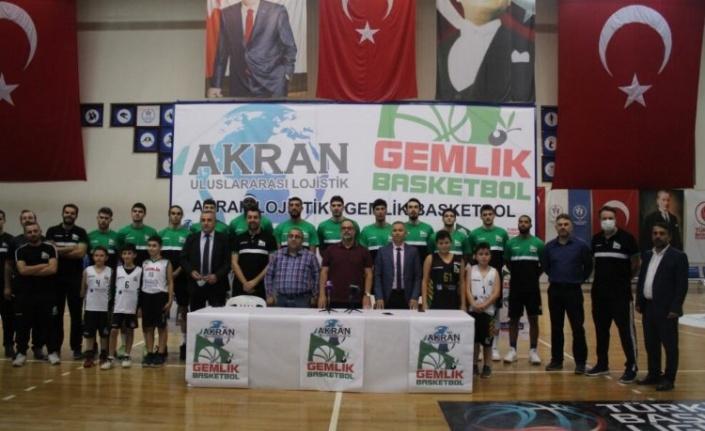 Bursa Gemlik Basketbol'un Yeni İsim Sponsoru Akran