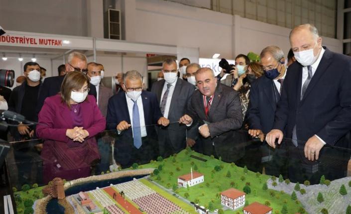 Expobel Fuarı Gaziantep'te açıldı