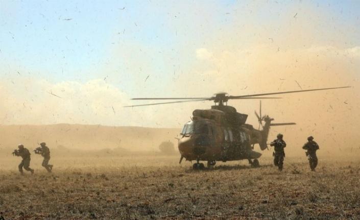 Fırat Kalkanı Bölgesi'nde 5 terörist etkisiz hale getirildi