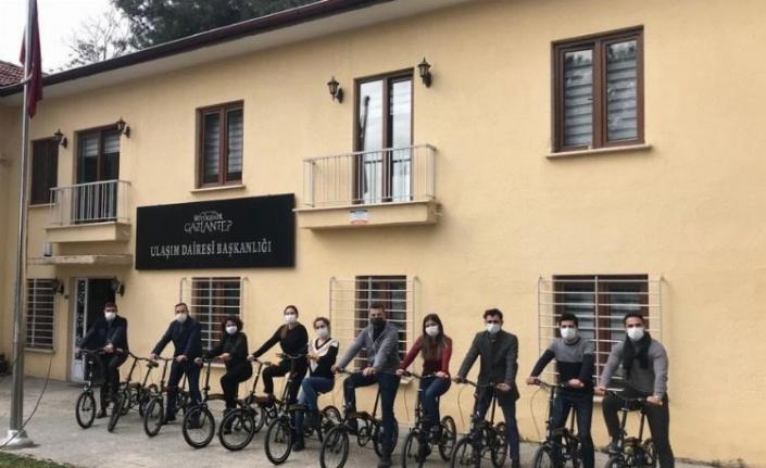 """Gaziantep """"Bisiklet Dostu İşveren"""" unvanı aldı"""