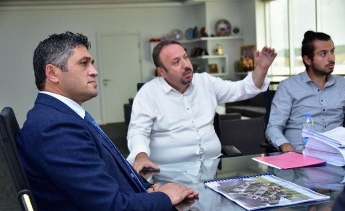 İzmir Aliağa'da Sanayi Sitesine cami projesi