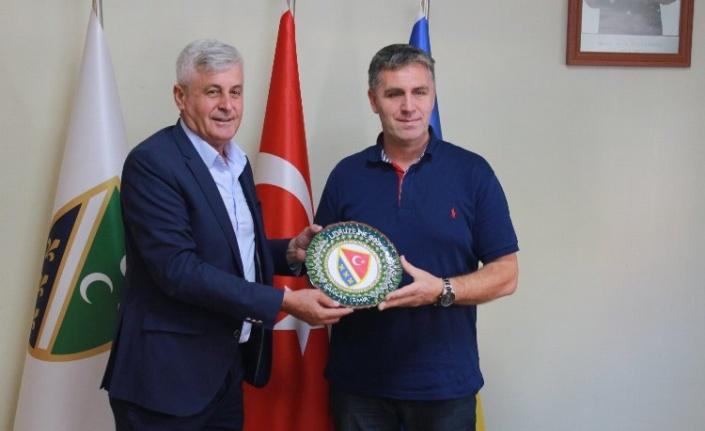 İzmir Bosna Sancak Derneği, Zavidoviçi Belediyesi tarafından ziyaret edildi