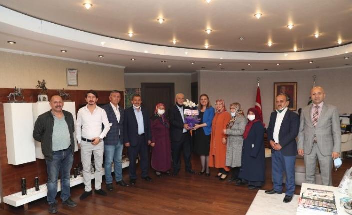 İzmit Belediye Başkanı Hürriyet, Hereke Ordulular Derneği'ni ağırladı