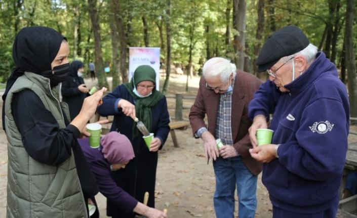 Kocaeli'de KO-MEK'in çınarları Ormanya'da buluştu