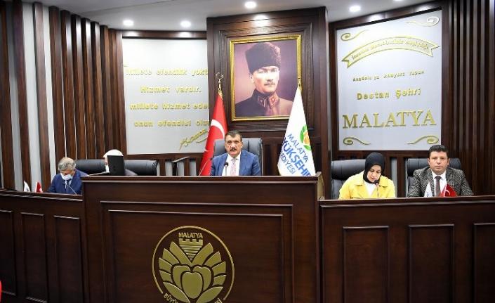 Malatya Büyükşehir Ekim ayı meclis toplantısını yaptı