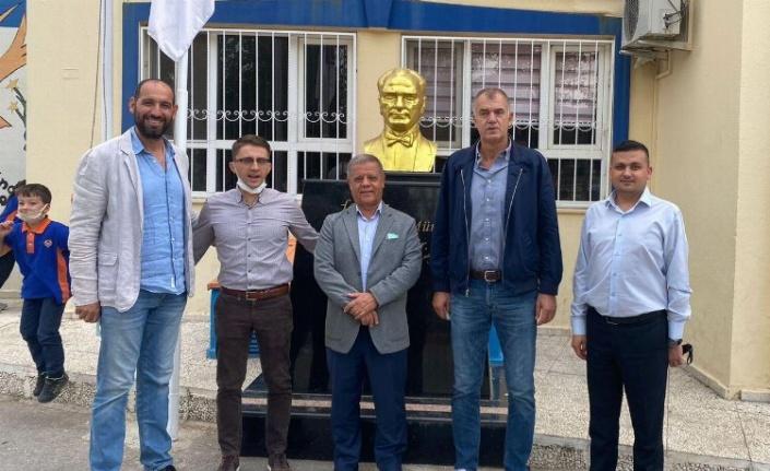 Manisa Büyükşehir'den sportif 'Hedef' ziyareti