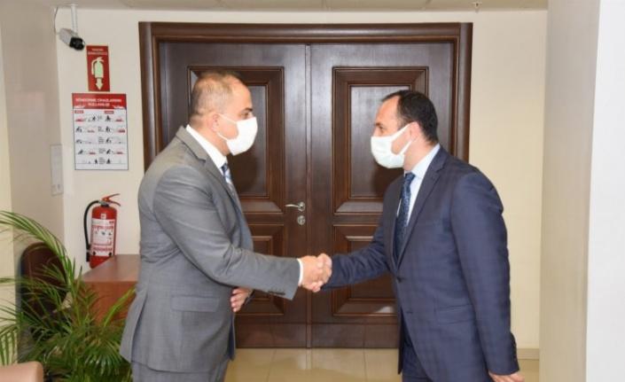 Manisa İl Sağlık Müdürü Erkuş MASKİ'yi ziyaret etti