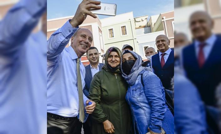 Memleket Partisi Genel Başkanı İnce, Sakarya'da ziyaretlerde bulundu