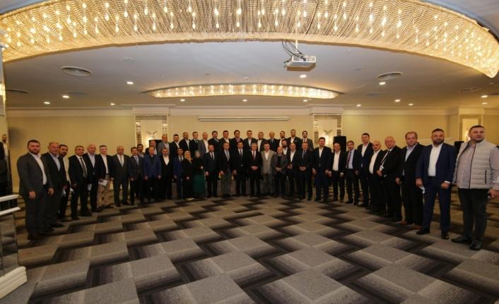 Sakarya'da AK Parti ekim ayı değerlendirme toplantısı yapıldı