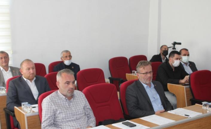 Söğütlü Belediyesi ekim ayı meclis toplantısı yapıldı