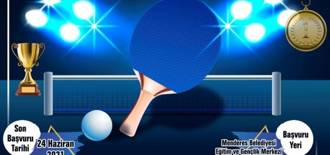 İzmir Menderes masa tenisine hazırlanıyor