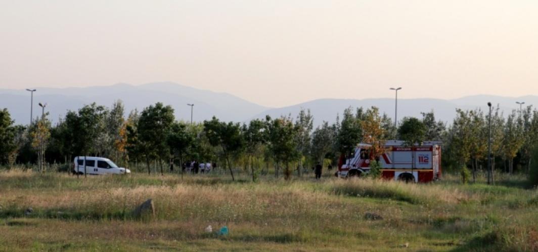 Kocaeli'de sulak alandaki 10 dönüm sazlık yandı