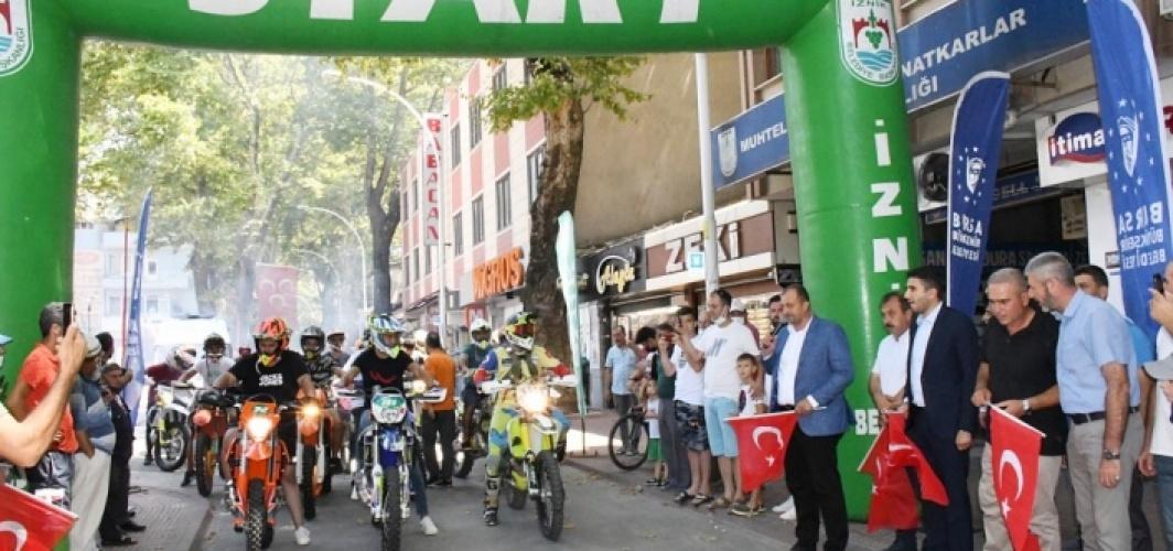 Türkiye Süper Enduro Şampiyonası'nın 3. ayağı Bursa'da başladı