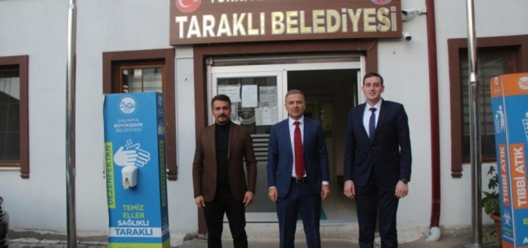 Geyve Kaymakamı Güven'den Belediye Başkanı Pilavcı'ya ziyaret