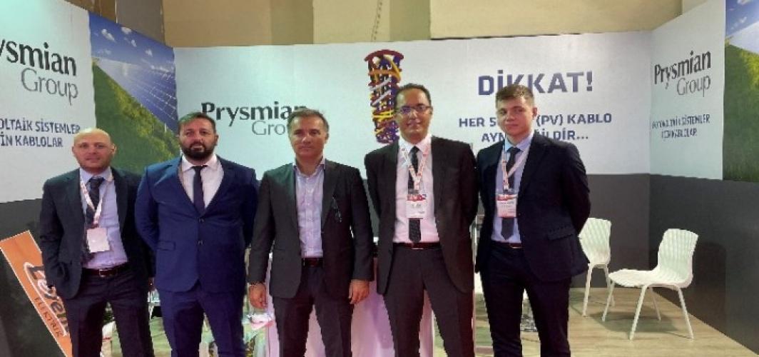Türk Prysmian Kablo, EIF'te solar çözümlerini tanıttı