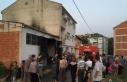 Bursa'da bir depoda çıkan yangın söndürüldü