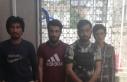 Kocaeli'de 4 düzensiz göçmen muhafaza altına...