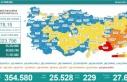 Türkiye'de 25 bin 528 kişinin Kovid-19 testi...